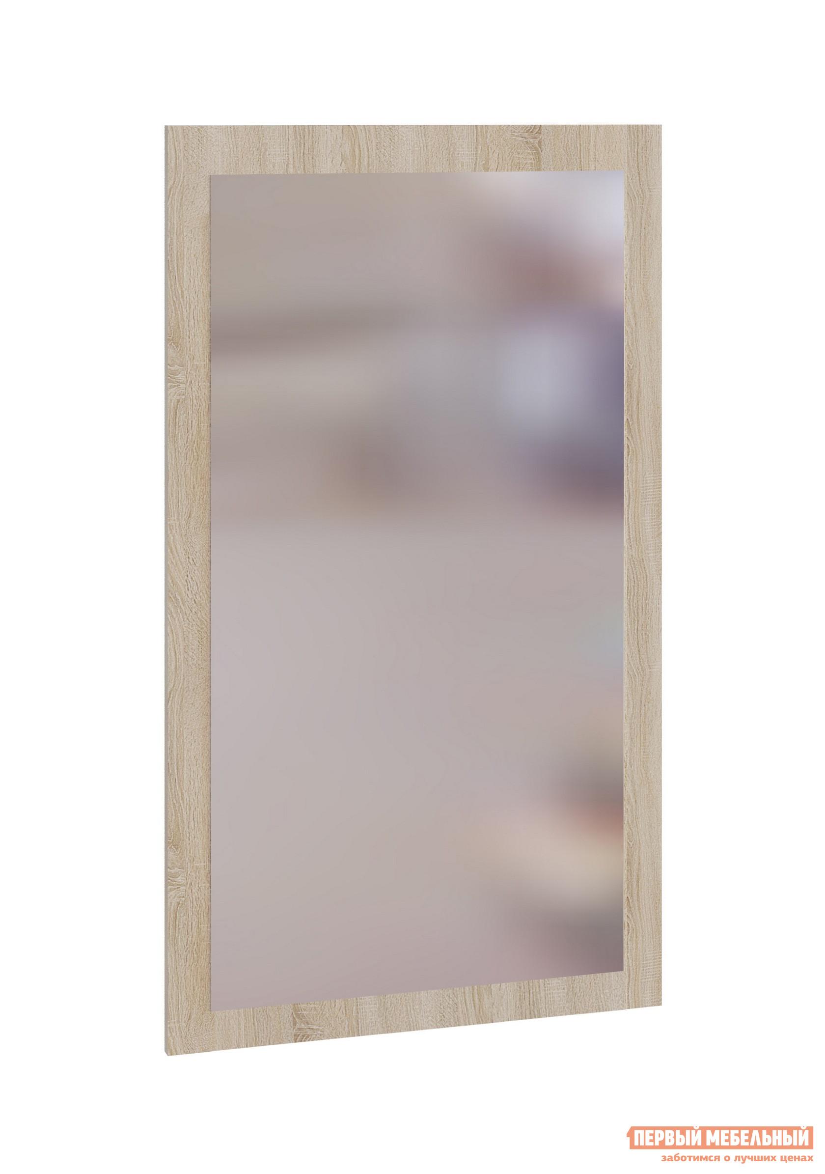 Настенное зеркало Сокол ПЗ-3 Дуб сономаНастенные зеркала<br>Габаритные размеры ВхШхГ 1044x600x мм. Классическое навесное зеркало дополнит любой интерьер. Преобразите вашу комнату благодаря одной детали – зеркало визуально расширит пространство и, благодаря большому выбору оттенков рамы, идеально подойдет к вашей мебели. Изделие выполнено из ЛДСП высокого качества.   Рекомендуем сохранить инструкцию по сборке (паспорт изделия) до истечения гарантийного срока.<br><br>Цвет: Дуб сонома<br>Цвет: Светлое дерево<br>Высота мм: 1044<br>Ширина мм: 600<br>Кол-во упаковок: 1<br>Форма поставки: В собранном виде<br>Срок гарантии: 2 года<br>Тип: Простые<br>Назначение: Для спальни, В прихожую<br>Материал: Деревянные, из ЛДСП<br>Форма: Прямоугольные<br>Подсветка: Без подсветки<br>Тип рамы: В раме