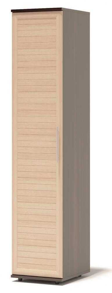 Шкаф распашной Сокол Аркадиа ШМ-25.3 Венге / Беленый дуб, Левый
