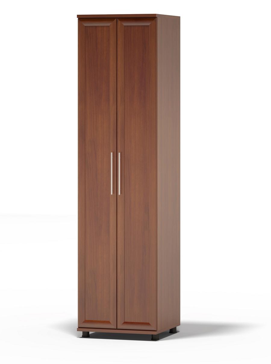Шкаф распашной Сокол Поло ШМ-26.3 Испанский орех, С зеркалом