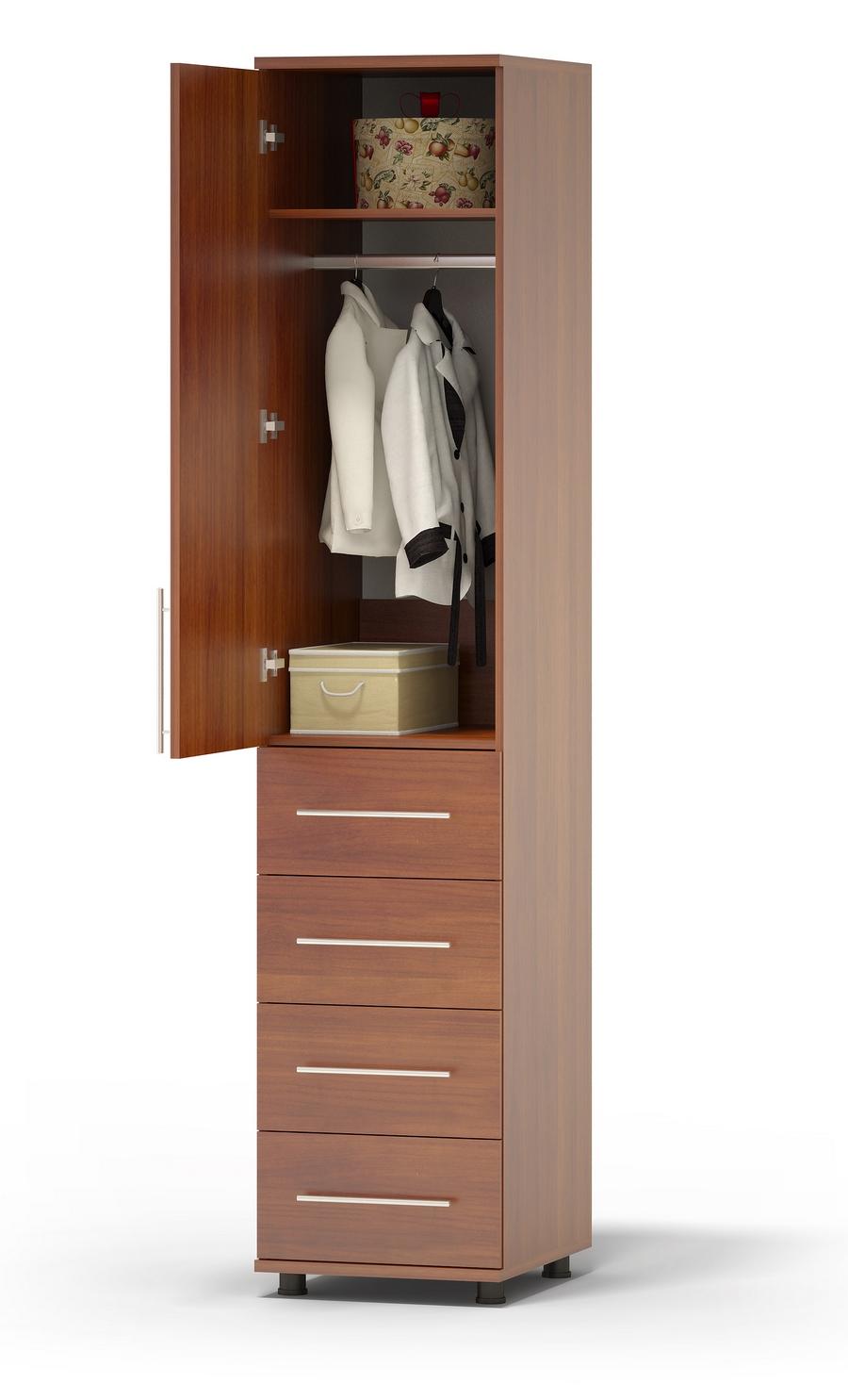 Шкаф распашной Сокол Маркес ШМ-205.4 Левый, Испанский орех