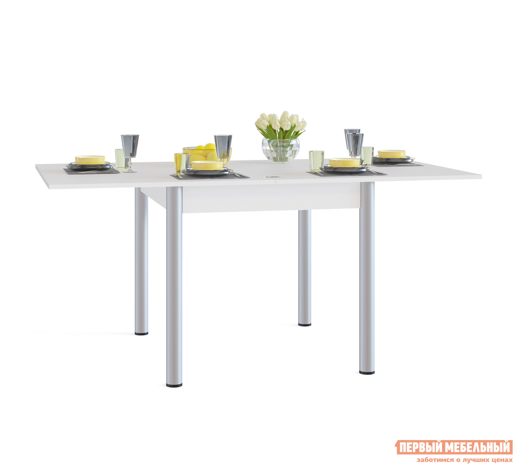 Кухонный стол Сокол СО-2м Белый