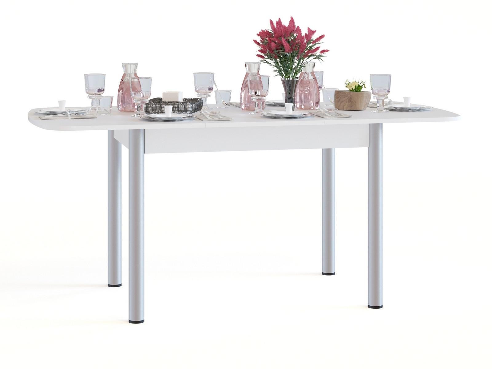 Кухонный стол  СО-3м Белый