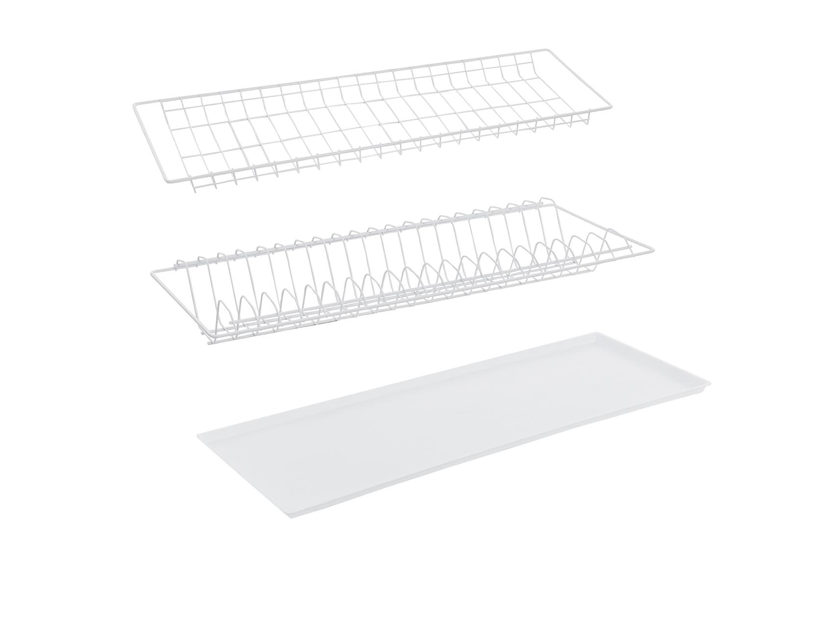 Сушилка для посуды Сокол Сушилка (с поддоном) 765 мм белая сушилка для посуды мультидом с поддоном
