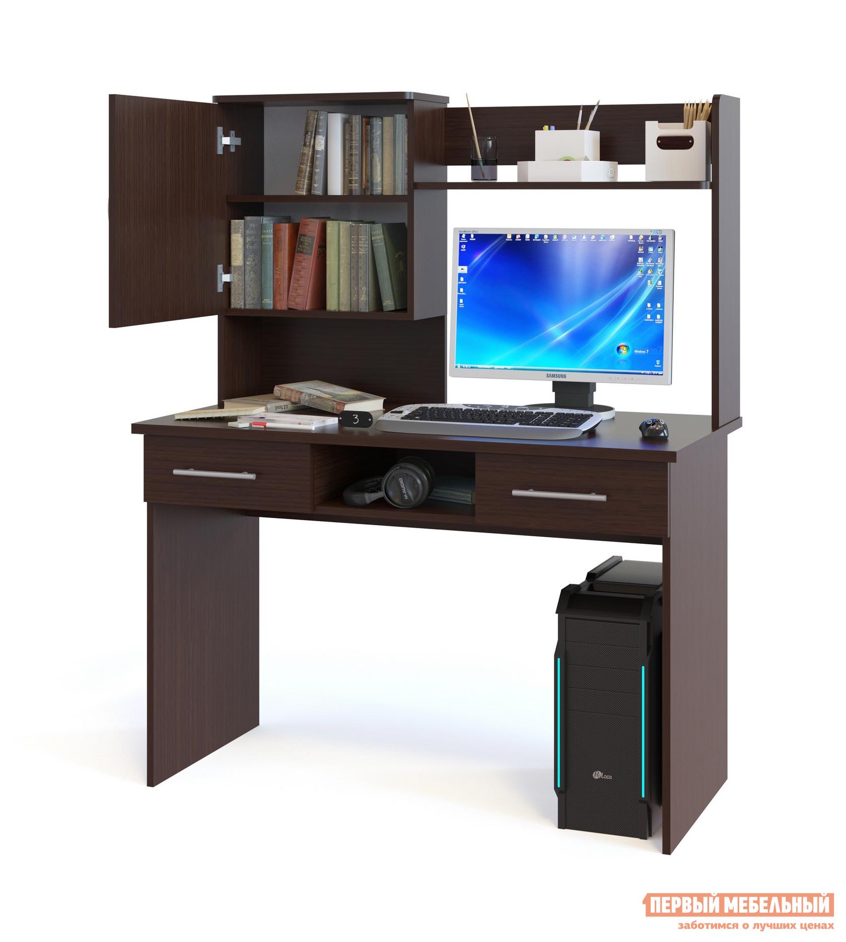 Компьютерный стол Сокол КСТ-107.1+КН-24 Венге