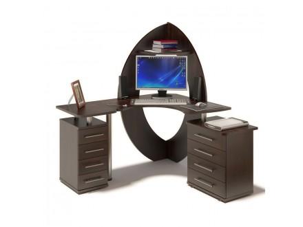 Компьютерный стол КСТ-101 + КТ-101.1 + КТ-102 Иствуд