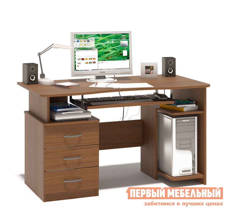 Компьютерный стол Сокол КСТ-08.1 Ноче-экко