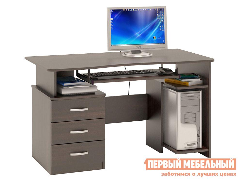 Компьютерный стол  КСТ-08.1 Венге Сокол 51162