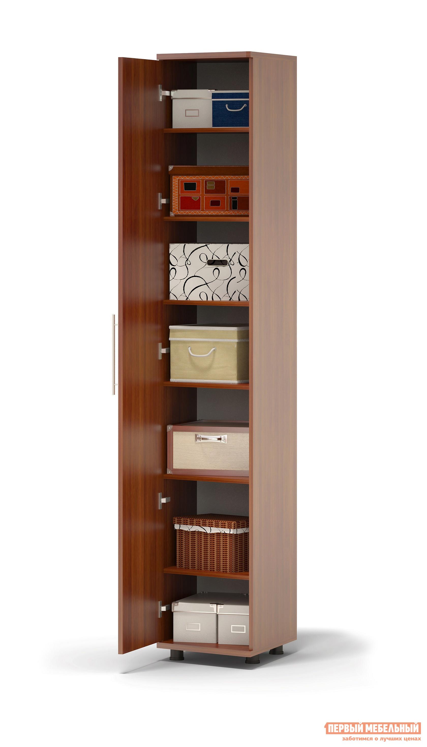 Шкаф распашной Сокол Маркес ШМ-25.3 Правый, С зеркалом, Испанский орех