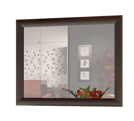 Настенное зеркало Сокол ПЗ-2 ВенгеНастенные зеркала<br>Габаритные размеры ВхШхГ 480x800x мм. Зеркало в раме из МДФ прекрасно подойдет для спальни или прихожей. Обратите внимание, что в модели предусмотрено крепление только для горизонтального навешивания.<br><br>Цвет: Венге<br>Высота мм: 480<br>Ширина мм: 800<br>Кол-во упаковок: 1<br>Форма поставки: В собранном виде<br>Срок гарантии: 2 года<br>Тип: Простые<br>Назначение: Для спальни<br>Назначение: В прихожую<br>Материал: Дерево<br>Материал: ЛДСП<br>Форма: Прямоугольные<br>Подсветка: Без подсветки<br>Тип рамы: В раме