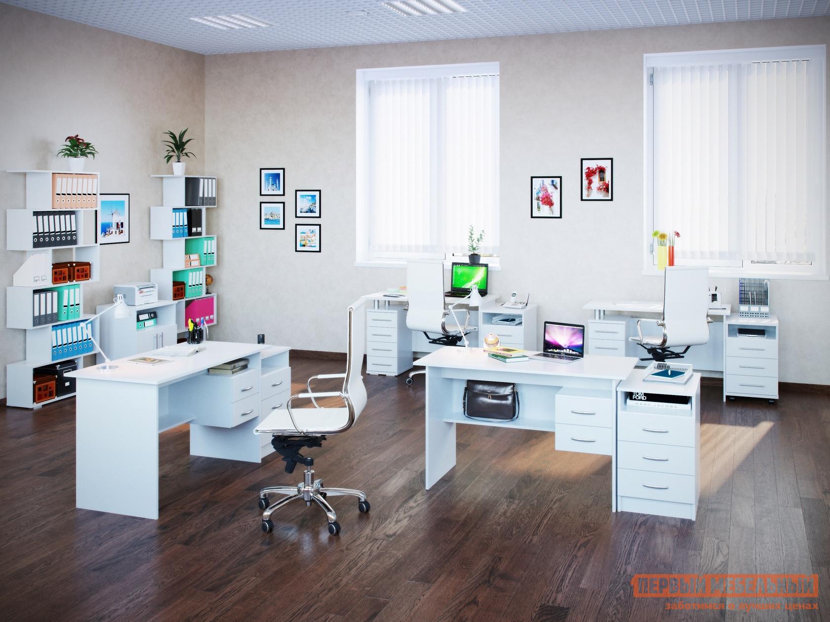 Комплект офисной мебели Сокол Сокол П К3 Белый