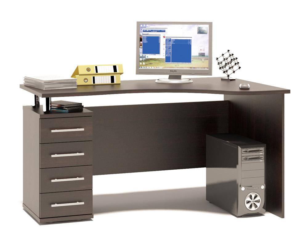 Письменный стол  КСТ-104.1  Венге, Левый