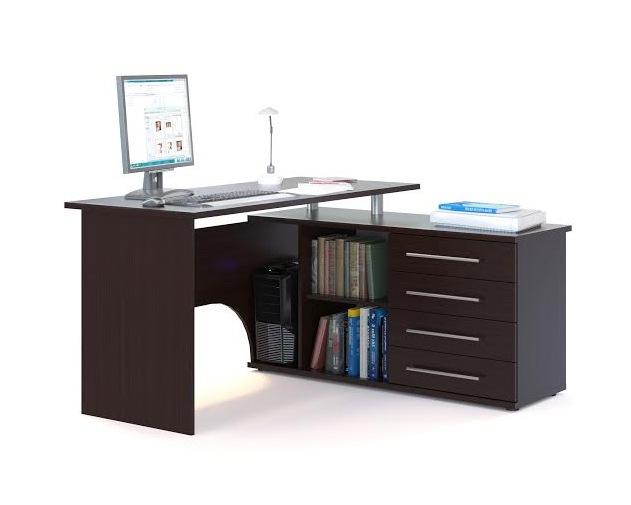 Письменный стол  КСТ-109 Венге, Правый