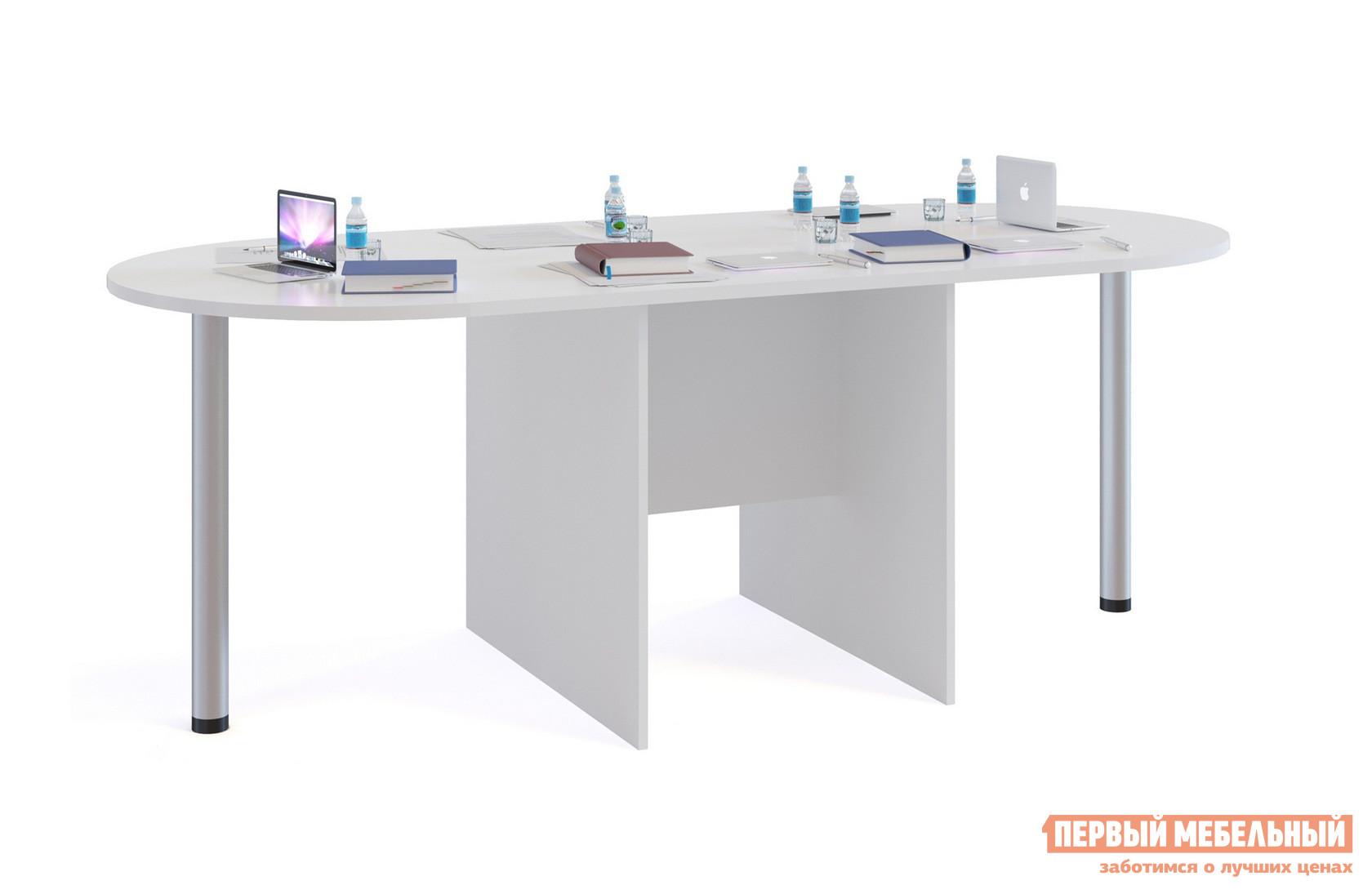 Стол для переговоров Сокол СПР-04+2 шт. СПР-03 Белый