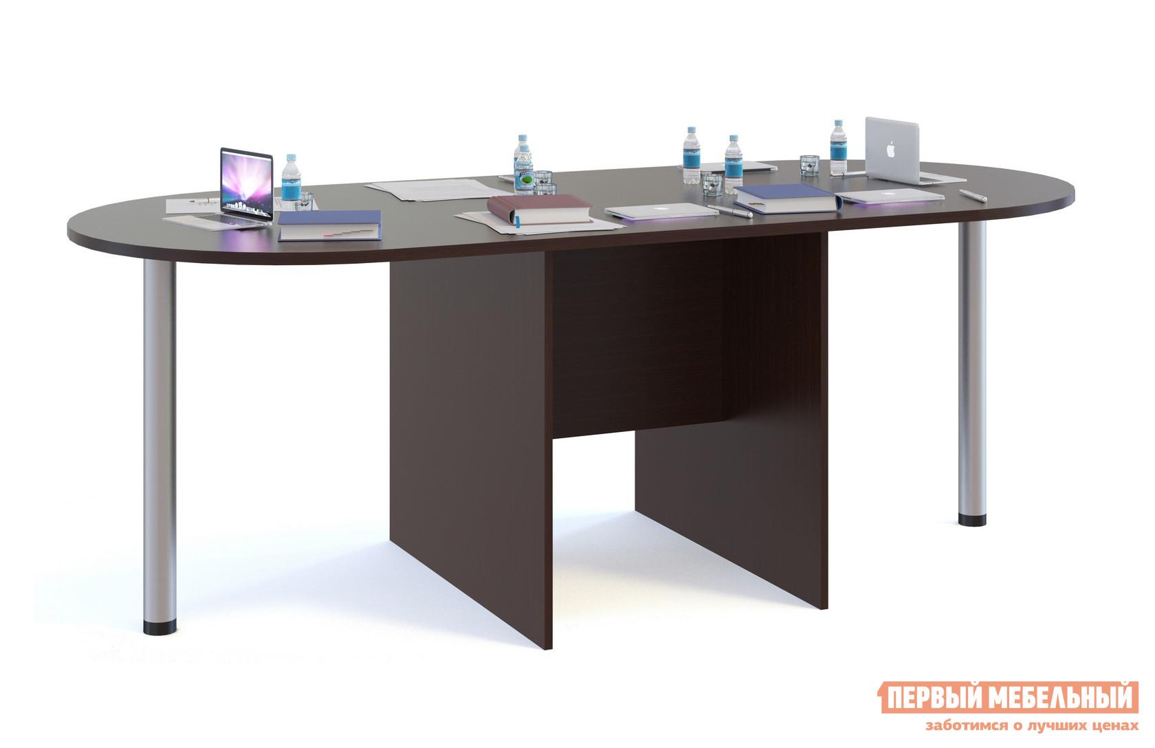 Стол для переговоров Сокол СПР-04+2 шт. СПР-03 Венге
