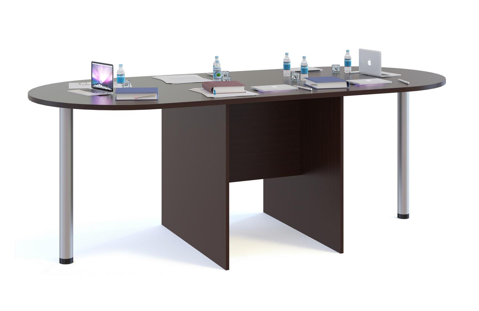 Стол для переговоров Сокол СПР-04+2 шт. СПР-03