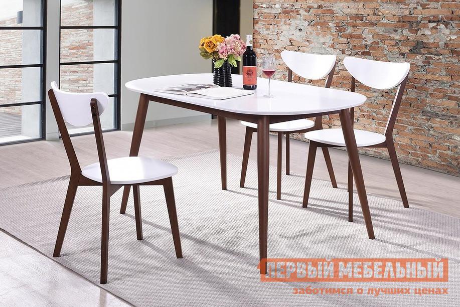 Обеденная группа для столовой и гостиной Tetchair Стол MAX + Стул MAXI с твёрдым сидением (3 шт) стул tetchair стул maxi с твёрдым сидением