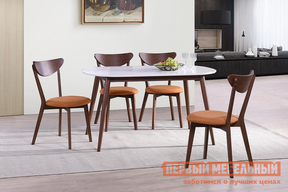 Обеденная группа для столовой и гостиной Tetchair Стол MAX + MAXI с мягким сидением (4 шт) обеденная группа для столовой и гостиной mr kim обеденная группа ra t4ex и 4 стула ra sc