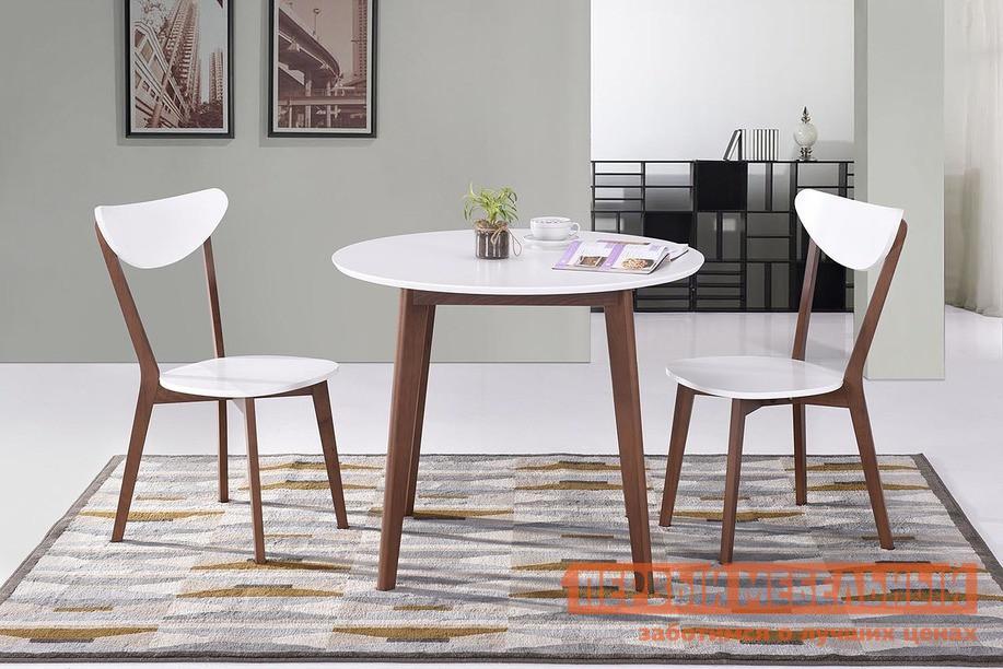 Обеденная группа для столовой и гостиной Tetchair Стол BOSCO + Стул MAXI с твёрдым сидением (2 шт) стул tetchair стул maxi с твёрдым сидением