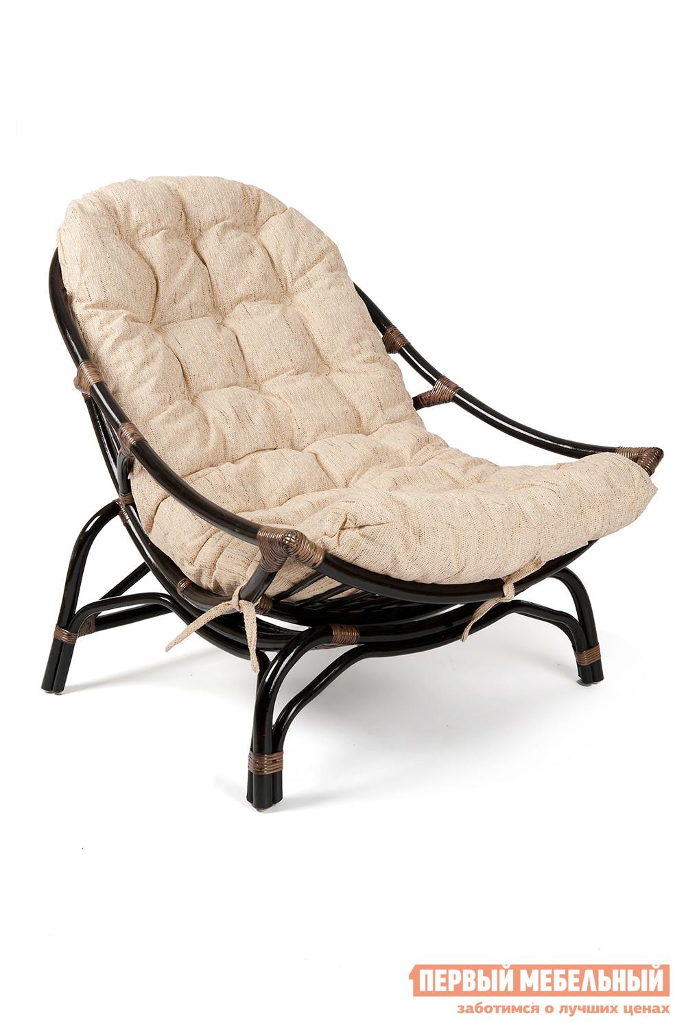 Плетеное кресло Tetchair VINECE с матрасом плетеное подвесное кресло тенерифе