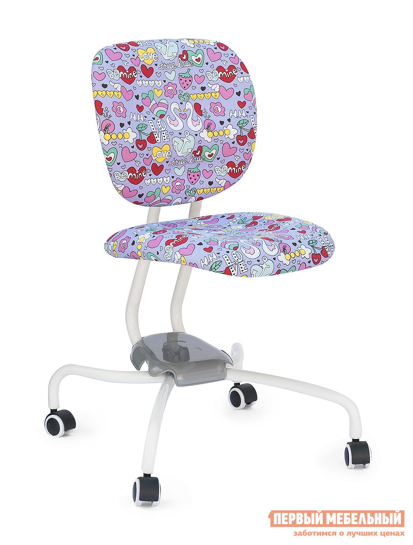 Компьютерное кресло Tetchair ZR2013 Ткань фиолетовые сердечки (purple heart)
