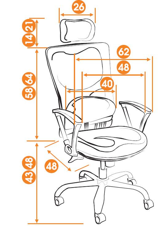 Кресло руководителя Cronos (CZ 018) КупиСтол.Ru 11560.000
