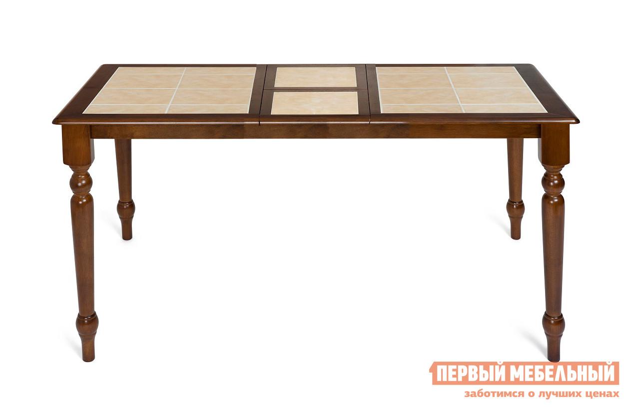 Обеденный стол с плиткой Tetchair СТ 2950Т tetchair обеденный стол tetchair эмир ст 3760р leg d античный белый темный дуб