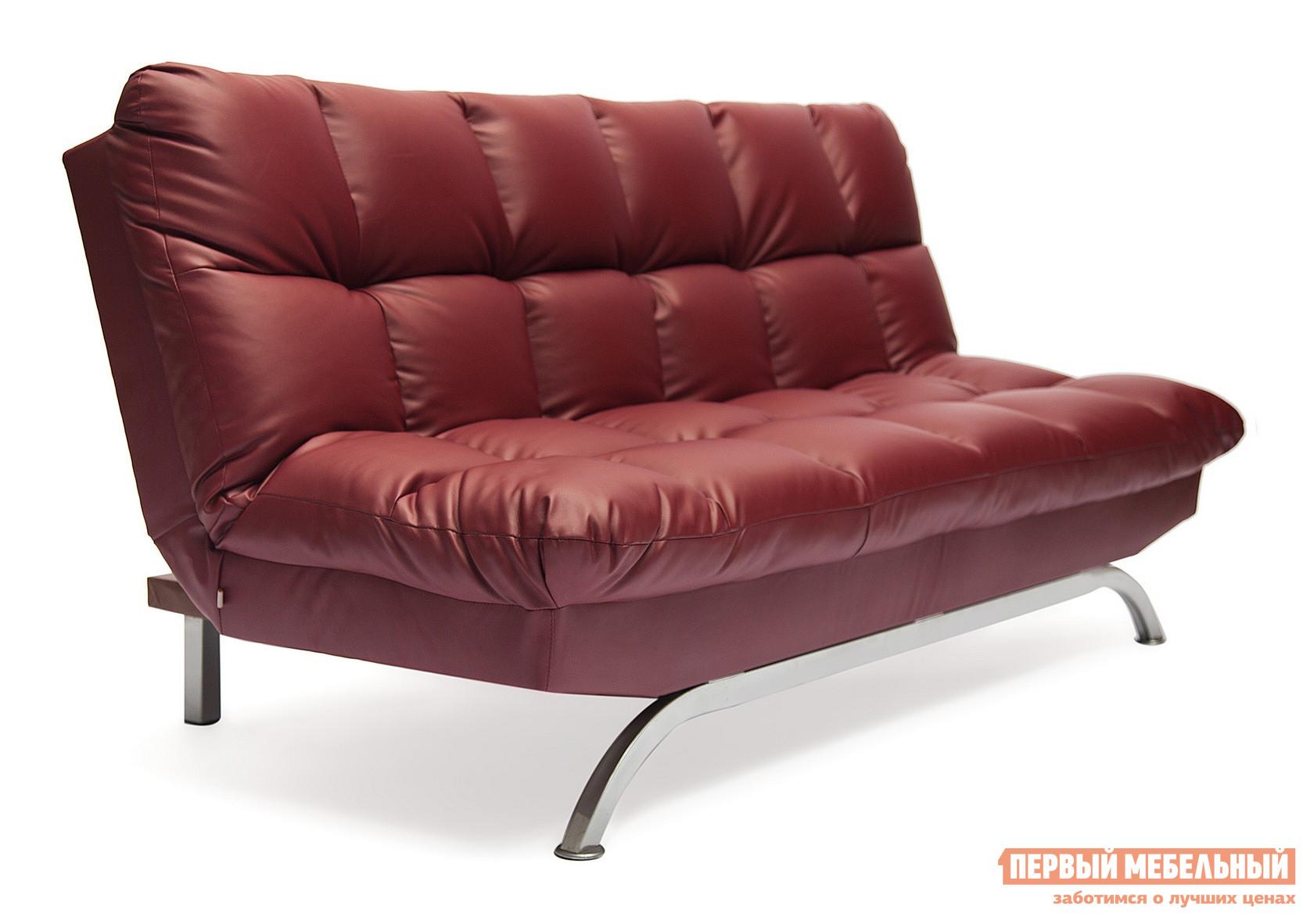 Диван Tetchair Amerillo Иск. кожа бордо PU C36-7Диваны<br>Габаритные размеры ВхШхГ 900 / 450x1800x950 / 1200 мм. Стильный раскладной диван облегченной конструкции — идеальный вариант для молодежной комнаты, квартиры-студии или гостиной в современном дизайне.  Модель имеет три варианта угла наклона спинки: сложенный, полуразложенный и полностью разложенный.  Удобная эргономика дивана обеспечит комфортный отдых и досуг.<br><br>Цвет: Иск. кожа бордо PU C36-7<br>Цвет: Красный<br>Высота мм: 900 / 450<br>Ширина мм: 1800<br>Глубина мм: 950 / 1200<br>Кол-во упаковок: 1<br>Форма поставки: В разобранном виде<br>Срок гарантии: 1 год<br>Тип: Прямые, Раскладные<br>Материал: из искусственной кожи