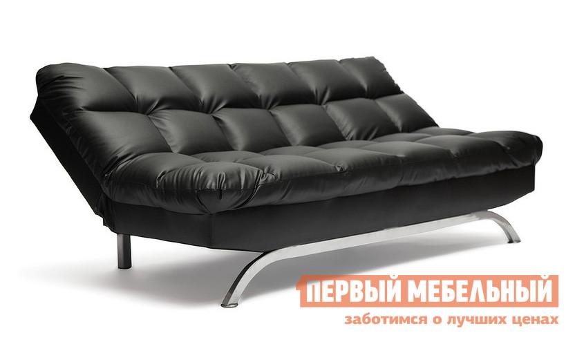 Диван Tetchair Amerillo Иск. кожа черная PU C36-6Диваны<br>Габаритные размеры ВхШхГ 900 / 450x1800x950 / 1200 мм. Стильный раскладной диван облегченной конструкции — идеальный вариант для молодежной комнаты, квартиры-студии или гостиной в современном дизайне.  Модель имеет три варианта угла наклона спинки: сложенный, полуразложенный и полностью разложенный.  Удобная эргономика дивана обеспечит комфортный отдых и досуг. Механизм трансформации: книжка;Спальное место: 1800 х 1200 мм;Высота сидения: 450 мм;Наполнение: ППУ;Основание: дерево, металл;Обивка: искусственная кожа. Максимально допустимая нагрузка на диван до 200 кг.<br><br>Цвет: Черный<br>Высота мм: 900 / 450<br>Ширина мм: 1800<br>Глубина мм: 950 / 1200<br>Кол-во упаковок: 1<br>Форма поставки: В разобранном виде<br>Срок гарантии: 1 год<br>Тип: Прямые<br>Тип: Диван-кровать<br>Материал: Искусственная кожа<br>Механизм трансформации: Книжка