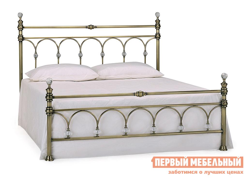 Кровать Tetchair WINDSOR Античная медь, Спальное место 1600 X 2000 мм, Без матраса