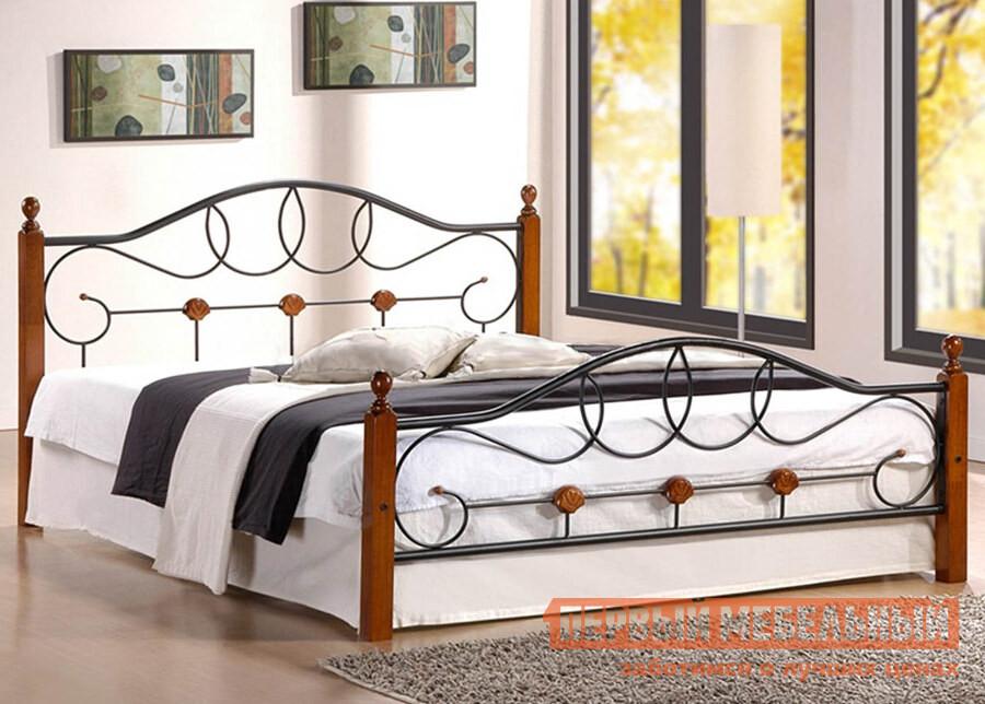 Кровать железная двуспальная Tetchair AT-822 кровать tetchair at 8077 120x200