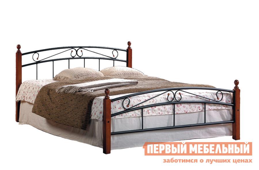 Кровать Tetchair AT-8077 Гевея / Металл, С матрасом от Купистол