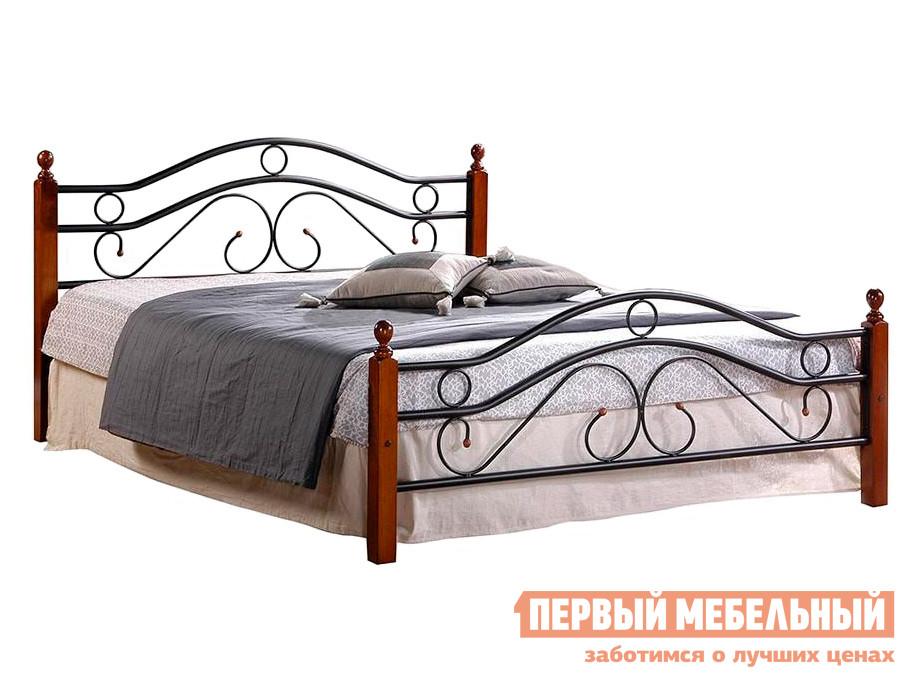 Металлическая двуспальная кровать Tetchair AT-803