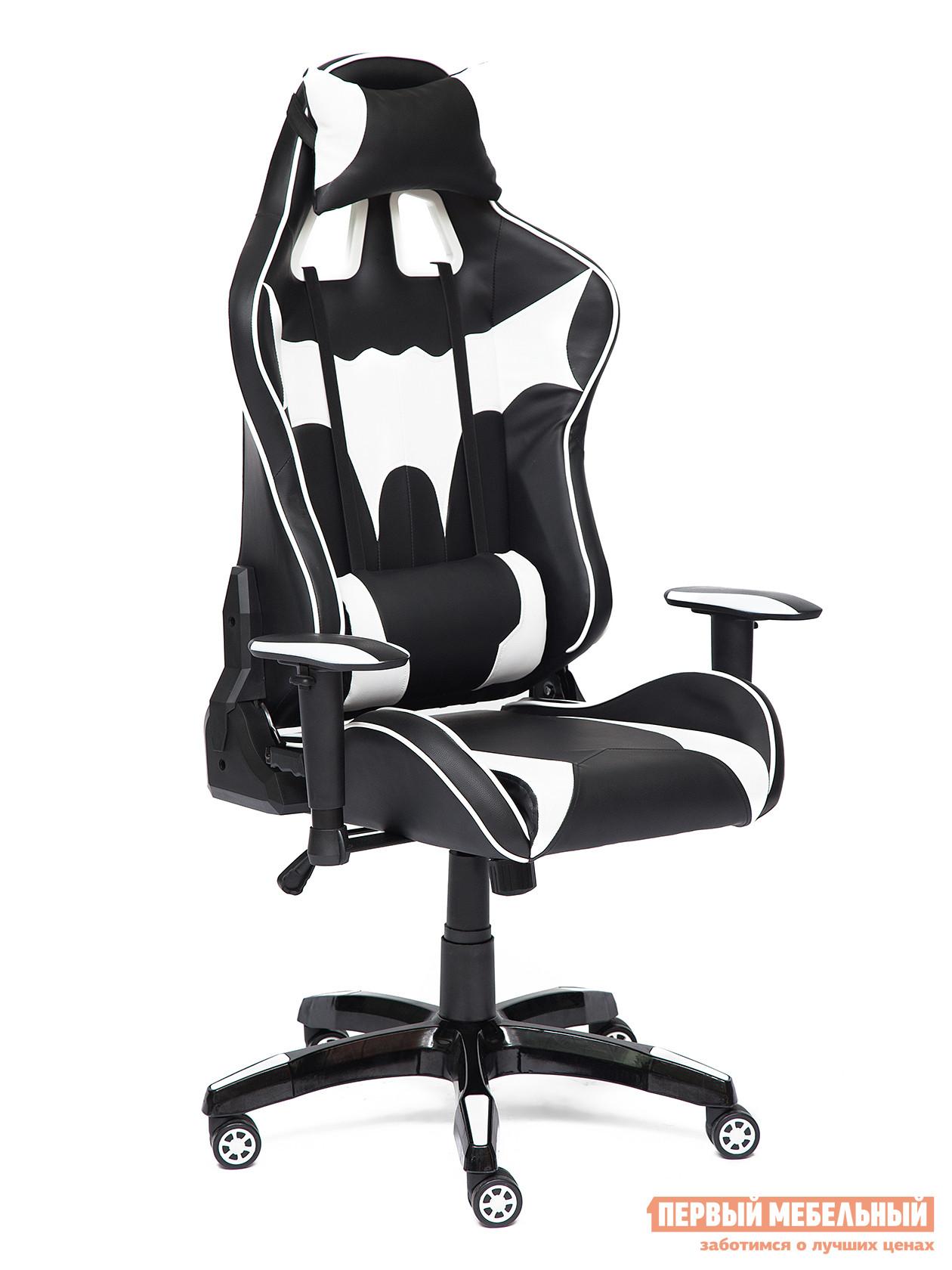 Игровое кресло Tetchair iBat Иск.кожа черная / Белая от Купистол