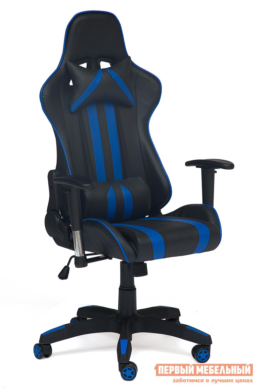 Игровое кресло Tetchair iCar Иск. кожа черная / синяя