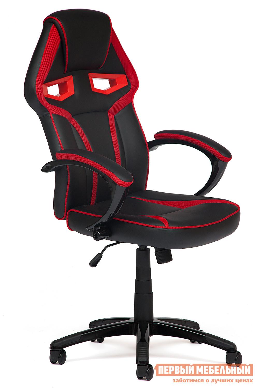 Фото Компьютерное кресло Tetchair JetCar Черно-красный/Black-Red. Купить с доставкой