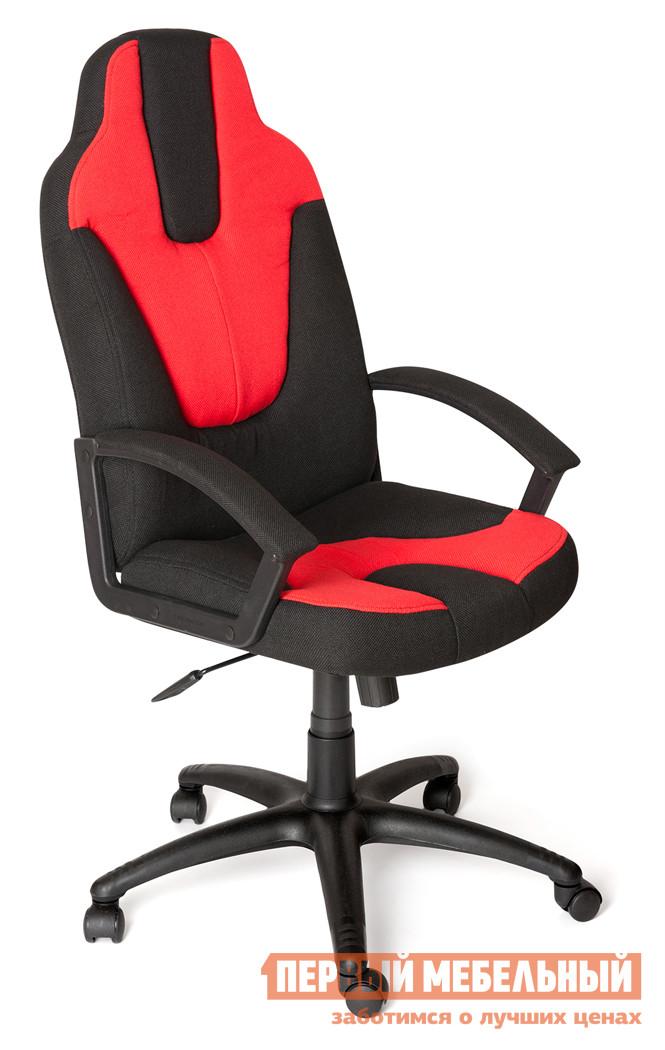 Фото Компьютерное кресло Tetchair NEO (3) Ткань черная/красная, 2603/493. Купить с доставкой