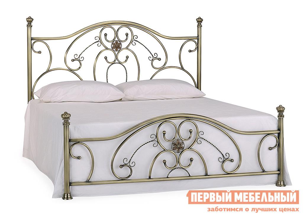 Металлическая полутороспальная кровать Tetchair ELIZABETH кровать металлическая tetchair elizabeth 140x200 цвет античная медь