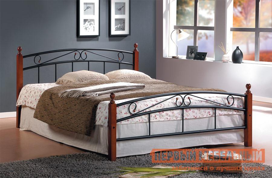 Железная кровать-полуторка кованая Tetchair AT-8077 односпальная кровать железная tetchair ат 233