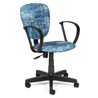 Детское компьютерное кресло Tetchair CH413 Ткань «Джинса»