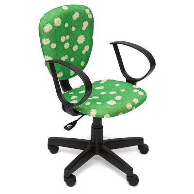 Компьютерное кресло Tetchair CH413 Ткань «Ромашки на зеленом»