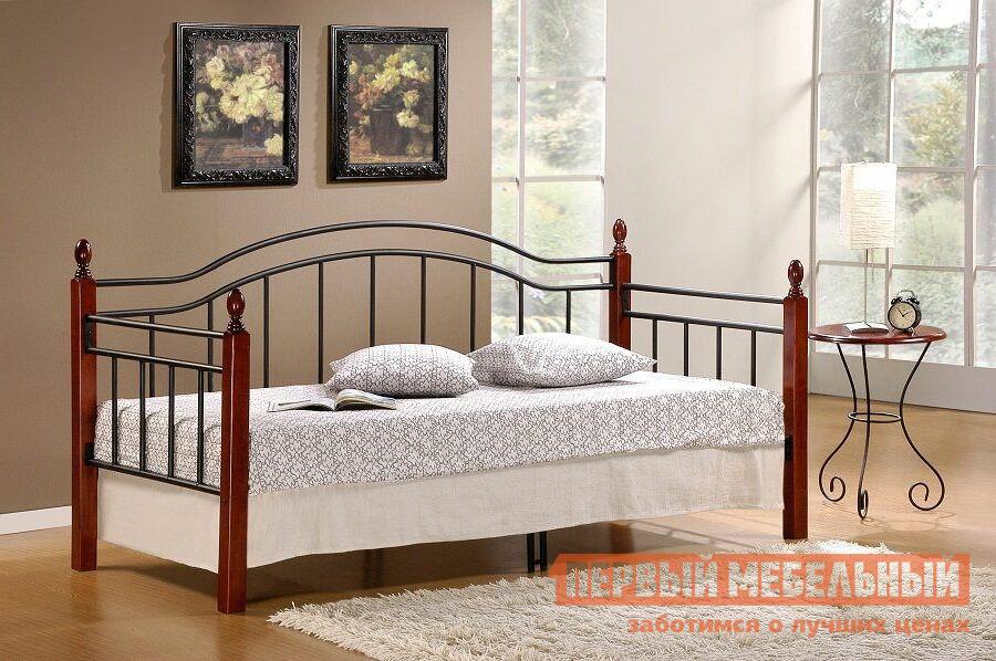 Металлическая односпальная кровать угловая Tetchair LANDLER односпальная кровать железная tetchair ат 233