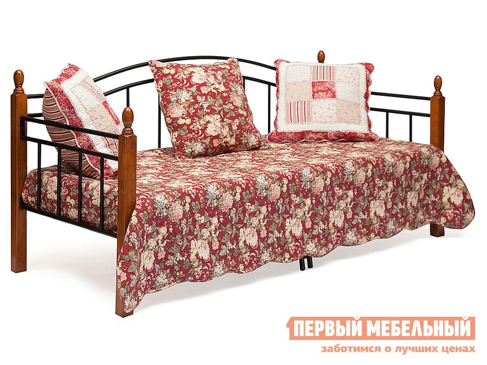 Металлическая односпальная кровать угловая Tetchair LANDLER кровать tetchair landler 90x200