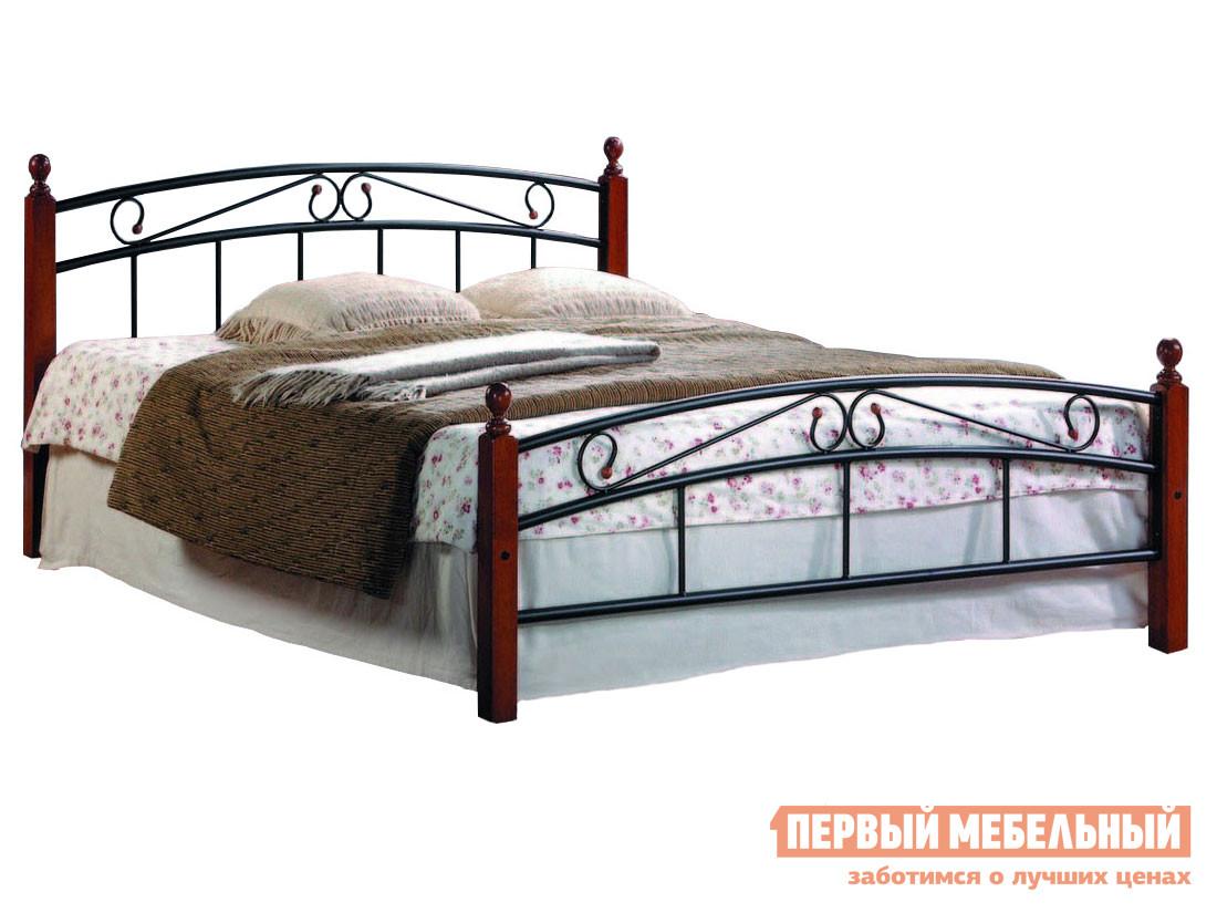 Односпальная железная кровать кованая Tetchair АТ-8077