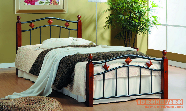 Металлическая односпальная кровать кованая Tetchair AT-126 tetchair кровать tetchair at 126 queen 1600 х 2030 гевея металл без матраса
