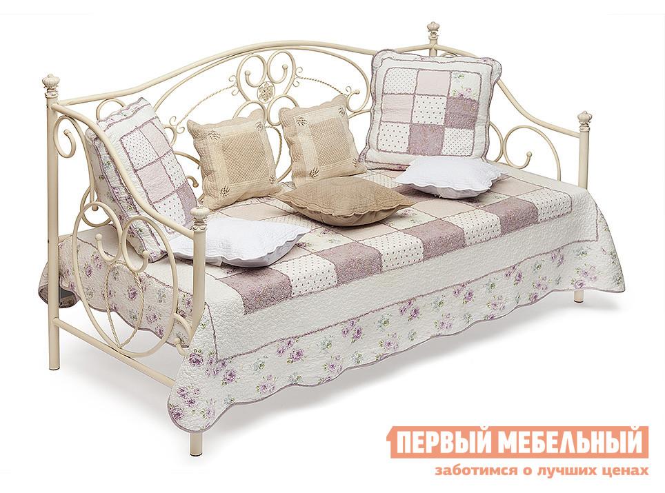 Кованая односпальная металлическая кровать Tetchair Jane