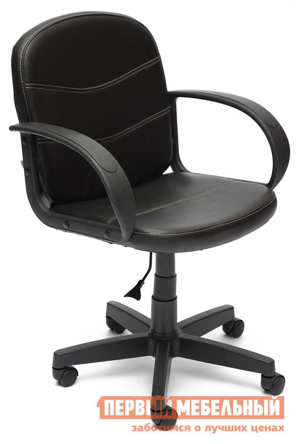 Фото Офисное кресло Tetchair BAGGI Иск. кожа черная. Купить с доставкой