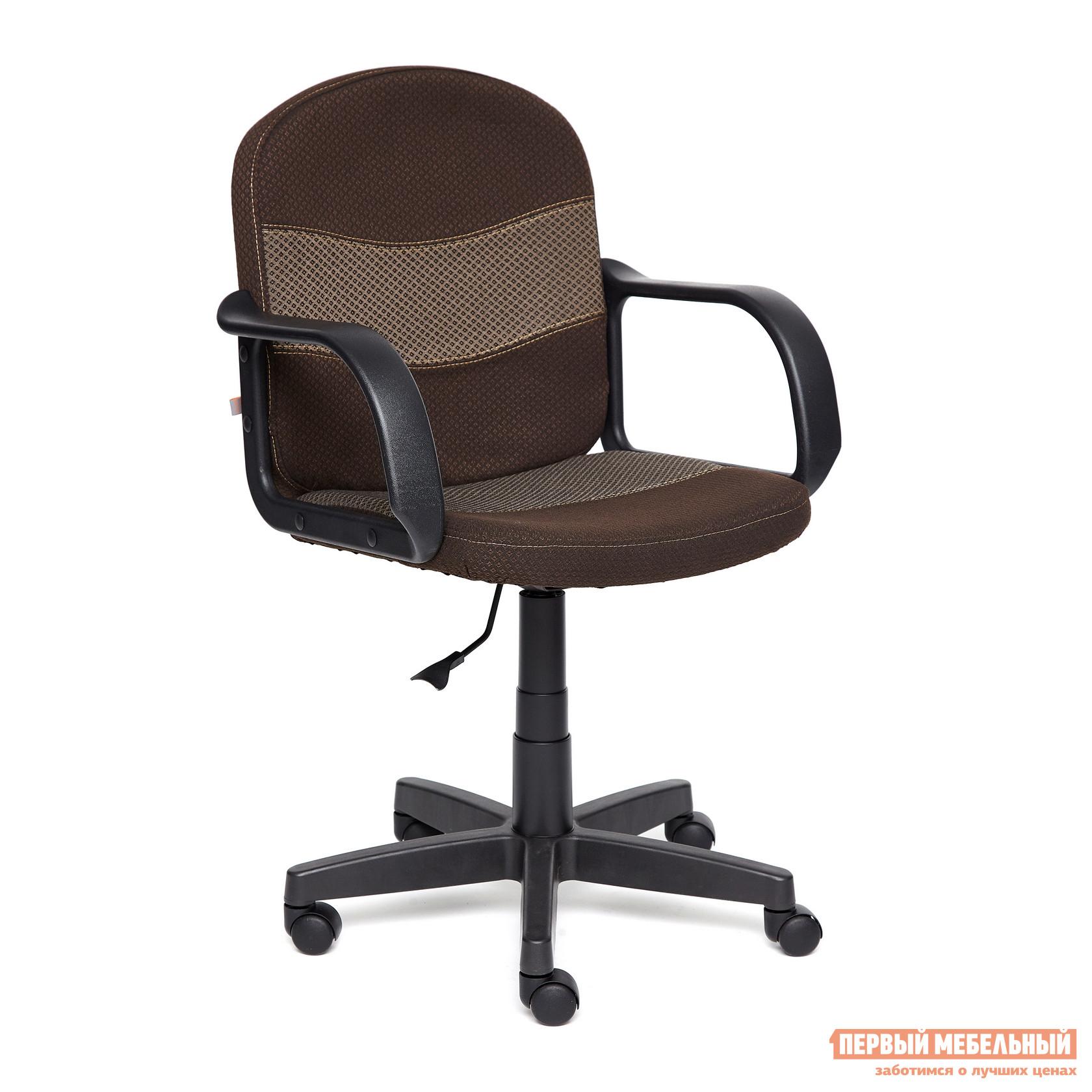Офисное кресло  BAGGI Ткань коричневая / бежевая Tetchair 19255
