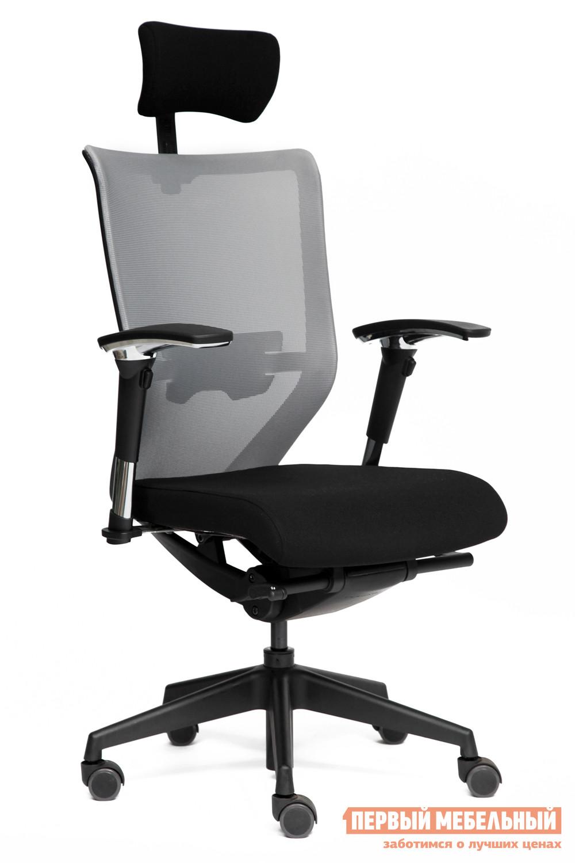 Кресло руководителя Tetchair AMIR-3 tetchair кресло руководителя tetchair kappa иск кожа черная серая ткань иск кожа черная серая ткань