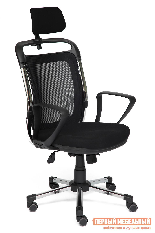 Кресло руководителя Tetchair ROCHE-1 tetchair кресло руководителя tetchair kappa иск кожа черная серая ткань иск кожа черная серая ткань