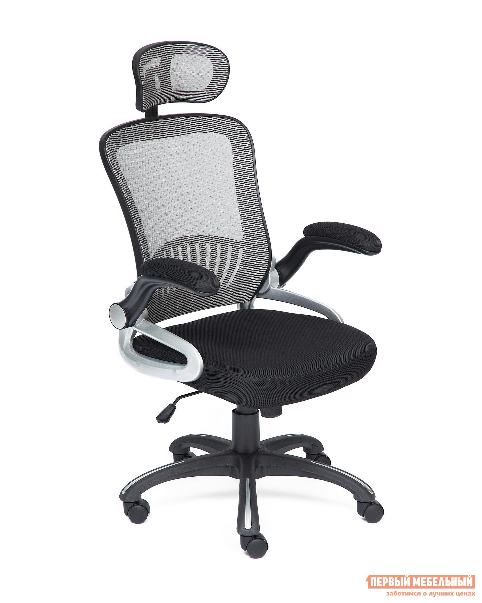 Кресло руководителя  Mesh-2 Черный / Серый